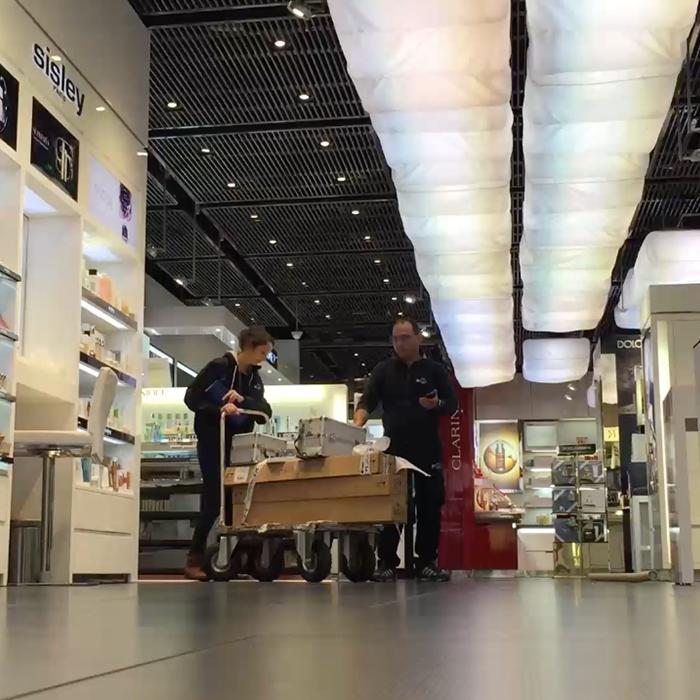 installazione arredamenti negozi
